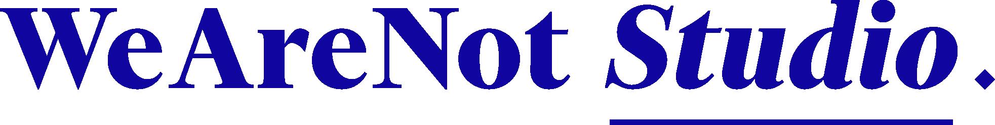 wearenot logo